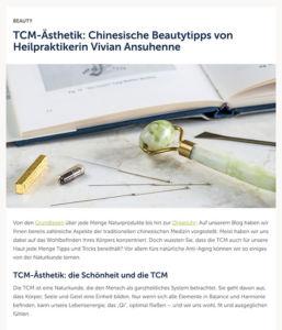 Schönheit und TCM